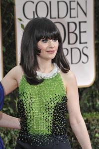 """The Golden Globe Awards - 69th Annual"" (Arrivals) Zooey Deschanel1-15-2012 © 2012 Jean Cummings - Image 24150_0437"