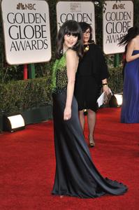 """The Golden Globe Awards - 69th Annual"" (Arrivals) Zooey Deschanel1-15-2012 © 2012 Jean Cummings - Image 24150_0438"