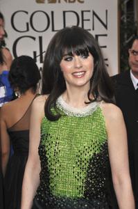 """The Golden Globe Awards - 69th Annual"" (Arrivals) Zooey Deschanel1-15-2012 © 2012 Jean Cummings - Image 24150_0439"
