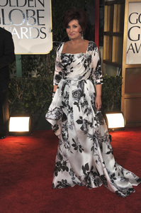 """The Golden Globe Awards - 69th Annual"" (Arrivals) Sharon Osbourne1-15-2012 © 2012 Jean Cummings - Image 24150_0444"
