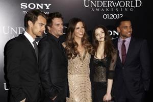 """Underworld Awakening"" Kate Beckinsale. The James, Len Wiseman, India Eisley, Machael Ealy1-19-2012 / Grauman"