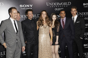 """Underworld Awakening"" Kate Beckinsale, Bjorn Stein, Mans Marlind, Len Wiseman, India Eisley, Michael Ealy, Theo James1-19-2012 / Grauman"