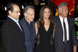 """Luck"" PremiereMichael Mann, David Milch, Dustin Hoffman1-25-2012 / Grauman"