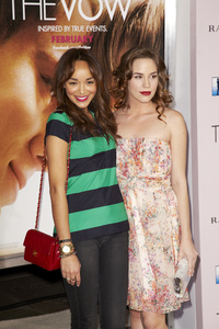 """The Vow"" PremiereAshley Madekwe, Christa B. Allen2-6-2012 / Grauman"