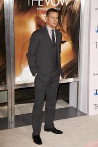 """""""The Vow"""" PremiereChanning Tatum2-6-2012 / Grauman"""