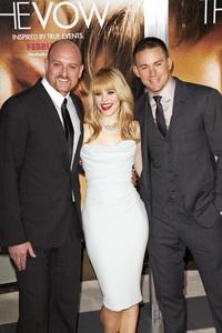 """The Vow"" PremiereRachel McAdams, Channing Tatum, Michael Sucsy2-6-2012 / Grauman"
