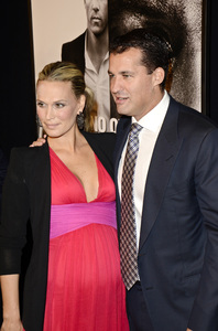 """Safe House"" PremiereMolly Sims,  Scott Stuber2-7-2012 / SVA Theater / Universal Pictures / New York NY / Photo by Eric Reichbaum - Image 24172_0089"