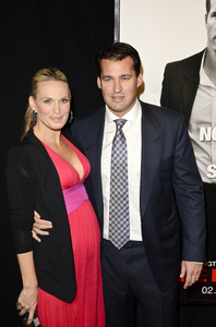 """Safe House"" PremiereMolly Sims,  Scott Stuber2-7-2012 / SVA Theater / Universal Pictures / New York NY / Photo by Eric Reichbaum - Image 24172_0092"