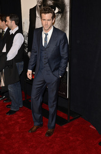 """Safe House"" PremiereRyan Reynolds2-7-2012 / SVA Theater / Universal Pictures / New York NY / Photo by Eric Reichbaum - Image 24172_0250"