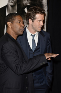 """Safe House"" PremiereDenzel Washington, Ryan Reynolds2-7-2012 / SVA Theater / Universal Pictures / New York NY / Photo by Eric Reichbaum - Image 24172_0306"