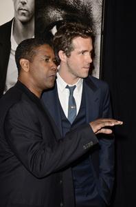 """Safe House"" PremiereDenzel Washington, Ryan Reynolds2-7-2012 / SVA Theater / Universal Pictures / New York NY / Photo by Eric Reichbaum - Image 24172_0307"