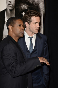 """Safe House"" PremiereDenzel Washington, Ryan Reynolds2-7-2012 / SVA Theater / Universal Pictures / New York NY / Photo by Eric Reichbaum - Image 24172_0308"