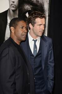 """Safe House"" PremiereDenzel Washington, Ryan Reynolds2-7-2012 / SVA Theater / Universal Pictures / New York NY / Photo by Eric Reichbaum - Image 24172_0309"
