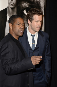 """Safe House"" PremiereDenzel Washington, Ryan Reynolds2-7-2012 / SVA Theater / Universal Pictures / New York NY / Photo by Eric Reichbaum - Image 24172_0312"