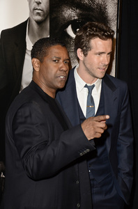 """Safe House"" PremiereDenzel Washington, Ryan Reynolds2-7-2012 / SVA Theater / Universal Pictures / New York NY / Photo by Eric Reichbaum - Image 24172_0314"