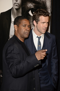 """Safe House"" PremiereDenzel Washington, Ryan Reynolds2-7-2012 / SVA Theater / Universal Pictures / New York NY / Photo by Eric Reichbaum - Image 24172_0315"