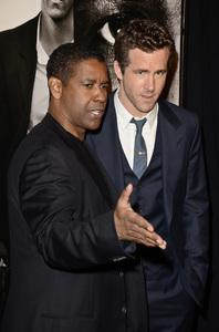 """Safe House"" PremiereDenzel Washington, Ryan Reynolds2-7-2012 / SVA Theater / Universal Pictures / New York NY / Photo by Eric Reichbaum - Image 24172_0319"