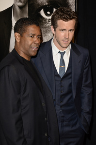 """Safe House"" PremiereDenzel Washington, Ryan Reynolds2-7-2012 / SVA Theater / Universal Pictures / New York NY / Photo by Eric Reichbaum - Image 24172_0321"
