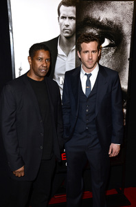 """Safe House"" PremiereDenzel Washington, Ryan Reynolds2-7-2012 / SVA Theater / Universal Pictures / New York NY / Photo by Eric Reichbaum - Image 24172_0323"