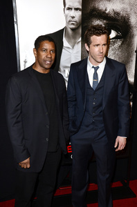 """Safe House"" PremiereDenzel Washington, Ryan Reynolds2-7-2012 / SVA Theater / Universal Pictures / New York NY / Photo by Eric Reichbaum - Image 24172_0324"