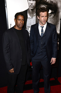 """Safe House"" PremiereDenzel Washington, Ryan Reynolds2-7-2012 / SVA Theater / Universal Pictures / New York NY / Photo by Eric Reichbaum - Image 24172_0325"
