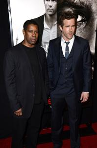 """Safe House"" PremiereDenzel Washington, Ryan Reynolds2-7-2012 / SVA Theater / Universal Pictures / New York NY / Photo by Eric Reichbaum - Image 24172_0325"