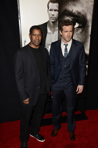 """Safe House"" PremiereDenzel Washington, Ryan Reynolds2-7-2012 / SVA Theater / Universal Pictures / New York NY / Photo by Eric Reichbaum - Image 24172_0326"