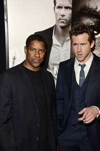 """Safe House"" PremiereDenzel Washington, Ryan Reynolds2-7-2012 / SVA Theater / Universal Pictures / New York NY / Photo by Eric Reichbaum - Image 24172_0328"
