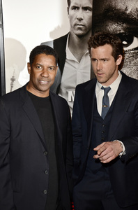"""Safe House"" PremiereDenzel Washington, Ryan Reynolds2-7-2012 / SVA Theater / Universal Pictures / New York NY / Photo by Eric Reichbaum - Image 24172_0329"