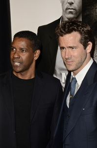 """Safe House"" PremiereDenzel Washington, Ryan Reynolds2-7-2012 / SVA Theater / Universal Pictures / New York NY / Photo by Eric Reichbaum - Image 24172_0340"