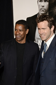 """Safe House"" PremiereDenzel Washington, Ryan Reynolds2-7-2012 / SVA Theater / Universal Pictures / New York NY / Photo by Eric Reichbaum - Image 24172_0341"