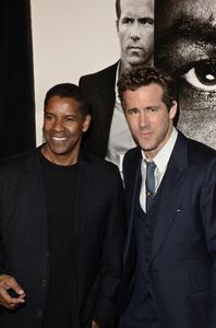"""Safe House"" PremiereDenzel Washington, Ryan Reynolds2-7-2012 / SVA Theater / Universal Pictures / New York NY / Photo by Eric Reichbaum - Image 24172_0343"