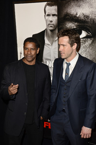 """Safe House"" PremiereDenzel Washington, Ryan Reynolds2-7-2012 / SVA Theater / Universal Pictures / New York NY / Photo by Eric Reichbaum - Image 24172_0344"