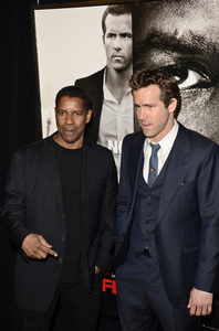 """Safe House"" PremiereDenzel Washington, Ryan Reynolds2-7-2012 / SVA Theater / Universal Pictures / New York NY / Photo by Eric Reichbaum - Image 24172_0345"
