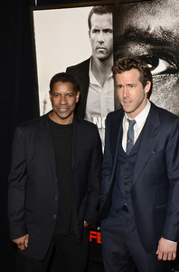 """Safe House"" PremiereDenzel Washington, Ryan Reynolds2-7-2012 / SVA Theater / Universal Pictures / New York NY / Photo by Eric Reichbaum - Image 24172_0346"