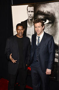 """Safe House"" PremiereDenzel Washington, Ryan Reynolds2-7-2012 / SVA Theater / Universal Pictures / New York NY / Photo by Eric Reichbaum - Image 24172_0347"