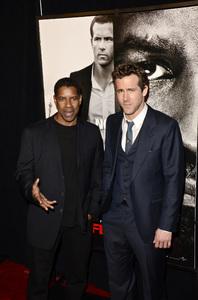 """Safe House"" PremiereDenzel Washington, Ryan Reynolds2-7-2012 / SVA Theater / Universal Pictures / New York NY / Photo by Eric Reichbaum - Image 24172_0347"