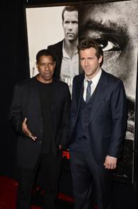 """Safe House"" PremiereDenzel Washington, Ryan Reynolds2-7-2012 / SVA Theater / Universal Pictures / New York NY / Photo by Eric Reichbaum - Image 24172_0348"