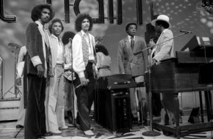 Don Cornelius and Switch appearing on Soul Train 1978© 1978 Bobby Holland - Image 24173_0006