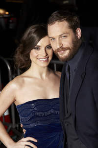"""This Means War"" PremiereTom Hardy, Charlotte Riley2-8-2012 / Grauman"