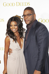 """Good Deeds"" PremiereTyler Perry, Gabrielle Union2-14-2012 / Regal Cinemas L.A. Live Stadium 14 / Lionsgate / Los Angeles CA / Photo by Kevin Kozicki - Image 24179_0038"