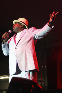 Cedric the Entertainer performing at the Baldwin Hills Crenshaw Mall in Los Angeles2011© 2011 Michael Jones - Image 24182_0017