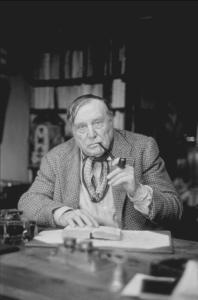 Maurice De Vlaminck in Vernevil, France, circa 1950. © 1978 Sanford Roth, LACMAMPTV  - Image 2418_0005