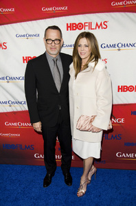 """Game Change"" PremiereTom Hanks, Rita Wilson3-7-2012 / Ziegfeld Theater / HBO / New York NY / Photo by Eric Reichbaum - Image 24183_0289"
