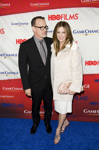 """Game Change"" PremiereTom Hanks, Rita Wilson3-7-2012 / Ziegfeld Theater / HBO / New York NY / Photo by Eric Reichbaum - Image 24183_0290"