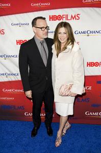 """""""Game Change"""" PremiereTom Hanks, Rita Wilson3-7-2012 / Ziegfeld Theater / HBO / New York NY / Photo by Eric Reichbaum - Image 24183_0290"""