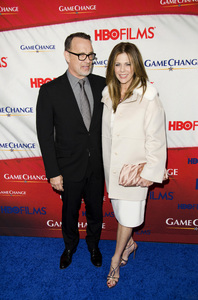 """""""Game Change"""" PremiereTom Hanks, Rita Wilson3-7-2012 / Ziegfeld Theater / HBO / New York NY / Photo by Eric Reichbaum - Image 24183_0291"""