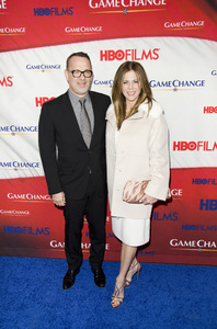 """Game Change"" PremiereTom Hanks, Rita Wilson3-7-2012 / Ziegfeld Theater / HBO / New York NY / Photo by Eric Reichbaum - Image 24183_0296"