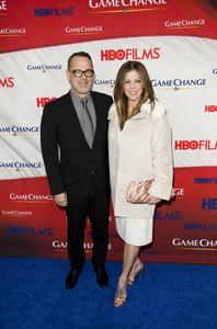 """""""Game Change"""" PremiereTom Hanks, Rita Wilson3-7-2012 / Ziegfeld Theater / HBO / New York NY / Photo by Eric Reichbaum - Image 24183_0297"""