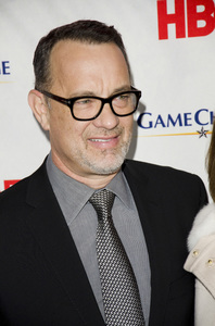 """Game Change"" PremiereTom Hanks3-7-2012 / Ziegfeld Theater / HBO / New York NY / Photo by Eric Reichbaum - Image 24183_0300"